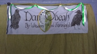 decor in Dan Obeah's common room