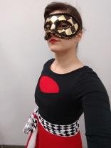 a Dremasque Masquerade guest