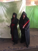 with my Sith master, played by Alex Helm