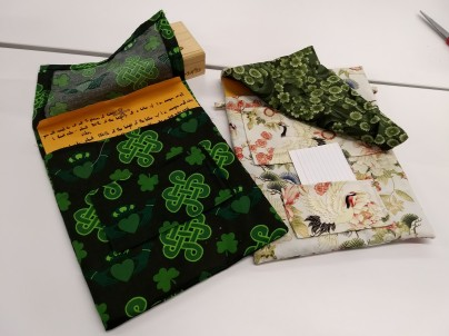 Fabric envelopes for packets