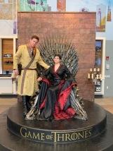Baela Targaryen on the Iron Throne