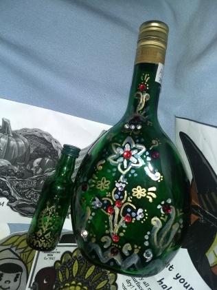 Bottle prop (side one)